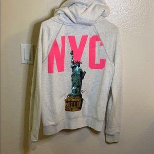 PINK New York zip up